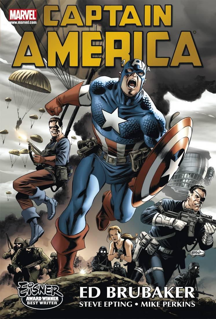 Captain America Brubaker Omnibus