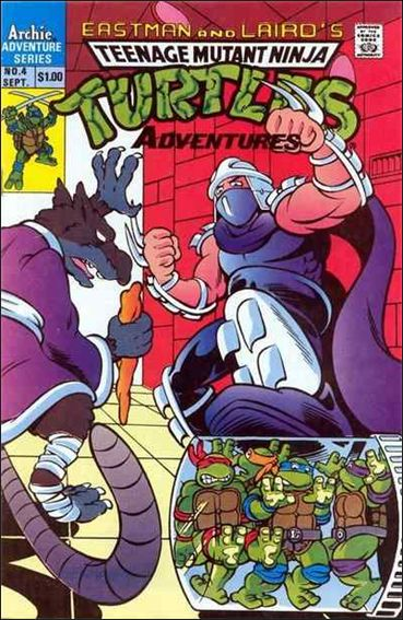 Teenage Mutant Ninja Turtles Adventures 4