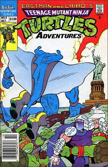 Teenage Mutant Ninja Turtles Adventures 5