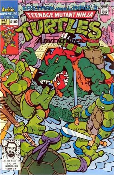 Teenage Mutant Ninja Turtles Adventures 6