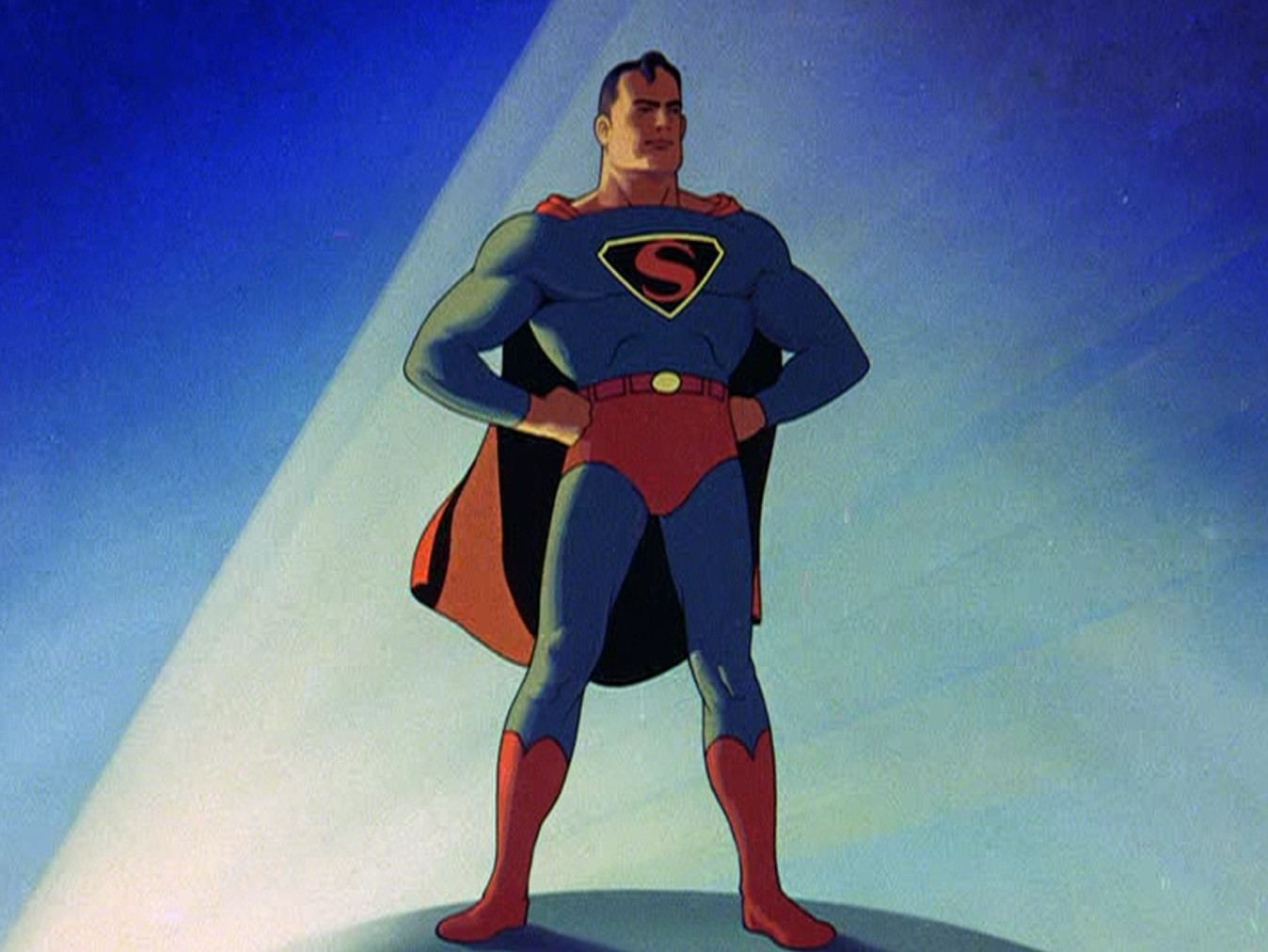 Image result for Fleischer Studios version of Superman